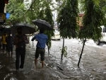 Glimpses of waterlogged roads after heavy rains in Kolkata