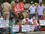 Petroleum price rise: CPI(M) activists protest in Hyderabad