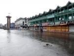 Lal Chowk in Srinagar wears deserted look amid lockdown