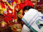 Bengal: Mamata Banerjee offers puja in Tarapith