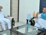 Basavaraj Bommai meets Rajnath Singh