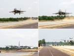 Union Ministers Rajnath Singh and Nitin Gadkari inaugurate Emergency Landing Facility in Rajasthan's Barmer dist