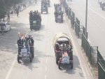 Farmers' tractor rally in Delhi