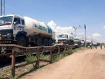 Oxygen express with 90.64 MT of LMO arrives in Madurai