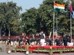 Rajnath Singh addresses NCC cadets at NCC Republic Day Parade Camp