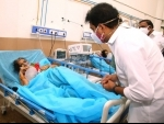 Telangana Information Technology interacts with Covid patients