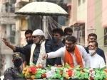 Mithun Chakraborty campaigns for Babul Supriyo in Bengal