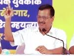 Arvind Kejriwal addresses press conference in poll-bound Goa
