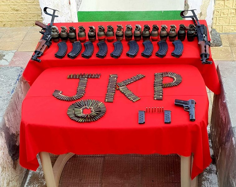 J&K Police recover arms from two JEM operatives in Ramban