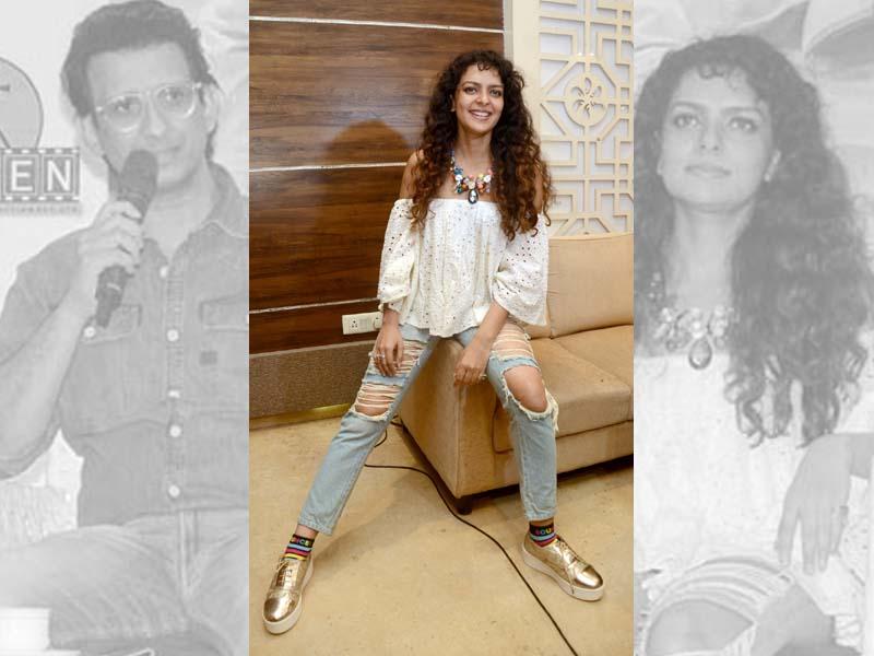 Sharman Joshi-Bidita Bag promote Fauji Calling in Kolkata