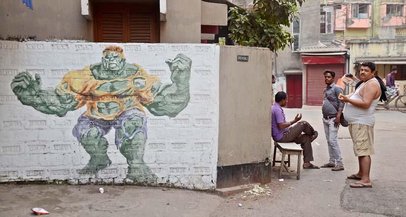 Where walls breathe art