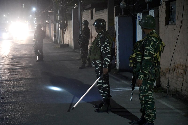 Kashmir: Terrorist attack in Srinagar