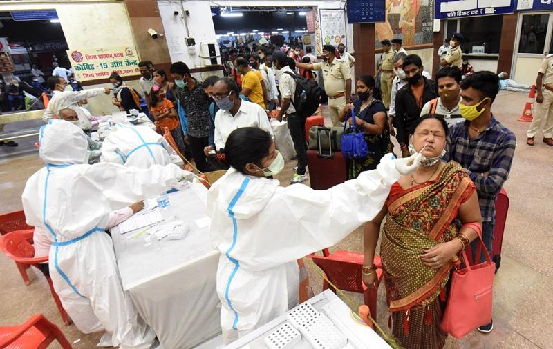 COVID-19 test in Patna