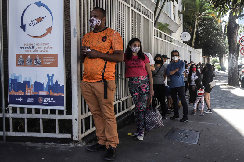 COVID-19 vaccination drive in Brazil
