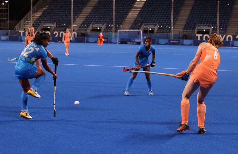 India in Olympics: Indian Women Hockey Team lost to Netherland by 5-1