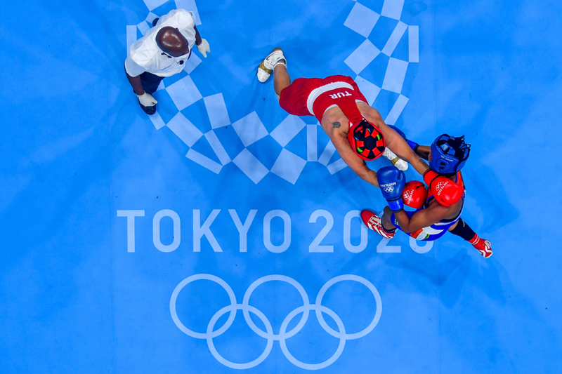 Olympics: Busenaz Surmeneli plays against Lovlina Borgohain of India