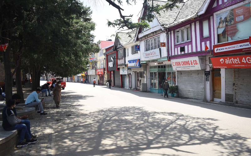 Shimla: Shops remain closed