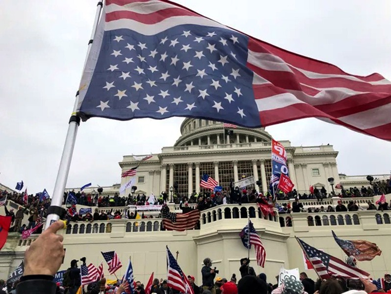 Donald Trump's supporters barge into US Capitol Building