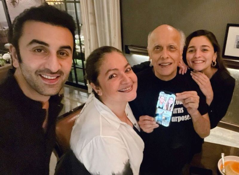 Alia Bhatt celebrates father Mahesh Bhatt's birthday with boyfriend Ranbir Kapoor
