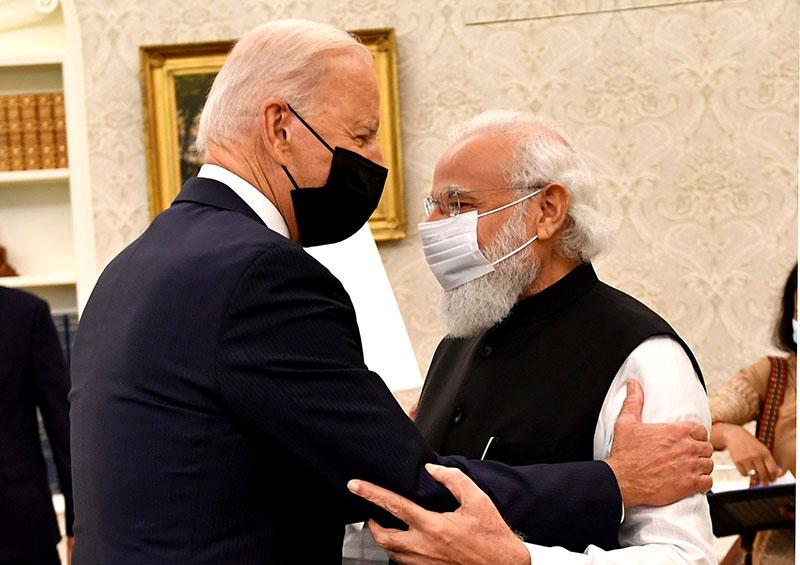 Modi in US: Indian PM meets US President Joe Biden