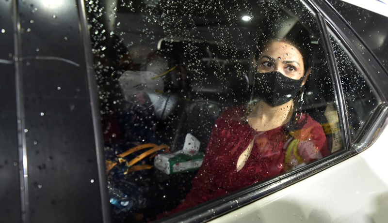 Yami Gautam in Kolkata for shooting of her film 'Lost'