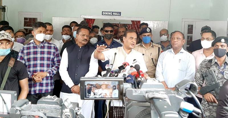 Himanta Biswa Sarma speaks on Assam-Mizoram border clash