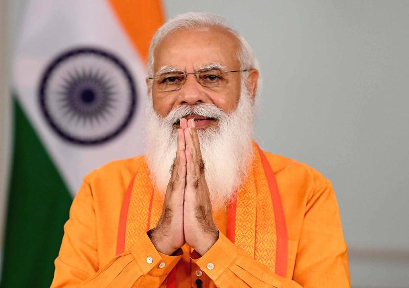 PM Modi addressing 7th International Yoga Day programme via video conferencing