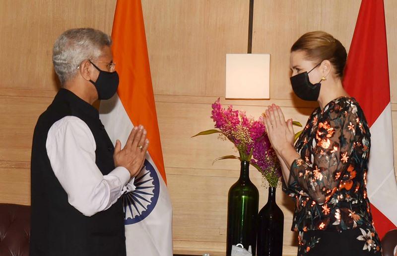 External Affairs Minister S Jaishankar meets Denmark PM Matte Frederiksen