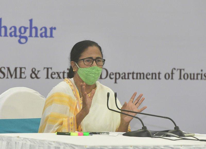 Mamata Banerjee meets representatives of Chambers of Commerce and Industry Associations at Nabanna