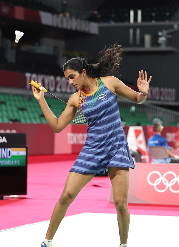 India in Olympics: PV Sindhu beats her Israil opponent during womens singles Group J qualification