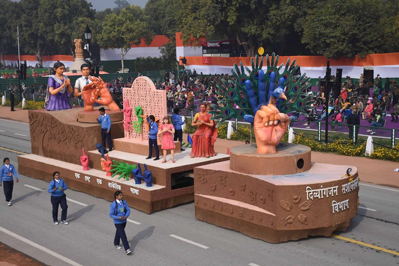 Republic Day dress rehearsal: Tableaus representing various Indian states rolling down on Delhi's Rajpath