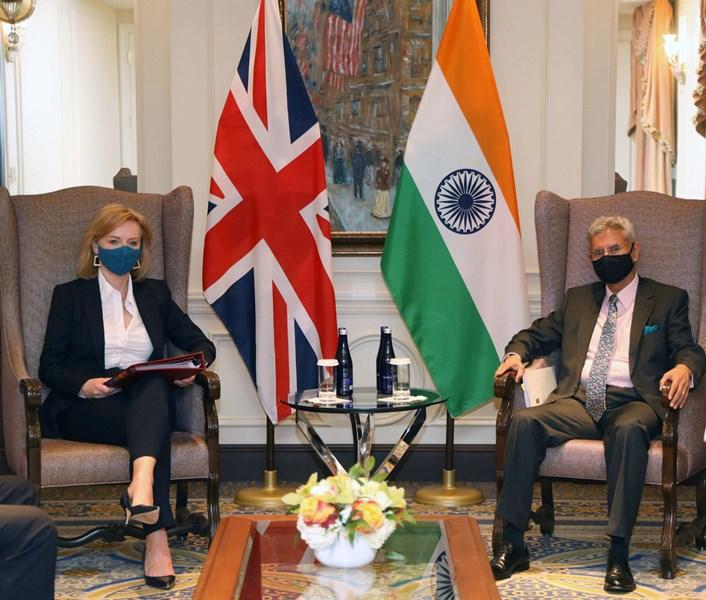 S Jaishankar meets UK Foreign Secretary Liz Truss in New York