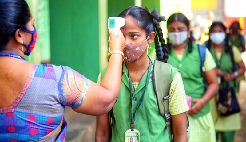 Tamil Nadu schools reopen after Covid-19 lockdown