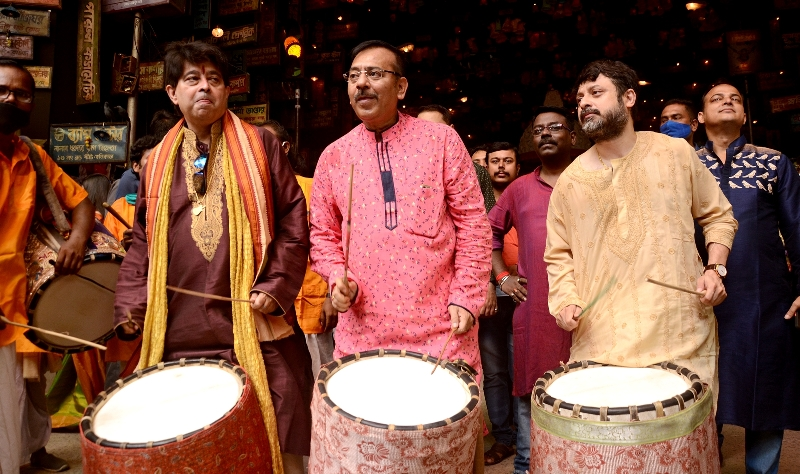 Durga Puja: Theme launch of Suruchi Sangha