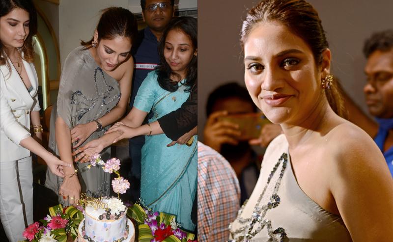 Actress and TMC MP Nusrat Jahan opens salon in Kolkata