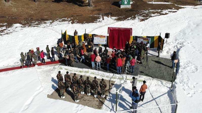 Jammu and Kashmir celebrates Gulmarg Winter Festival