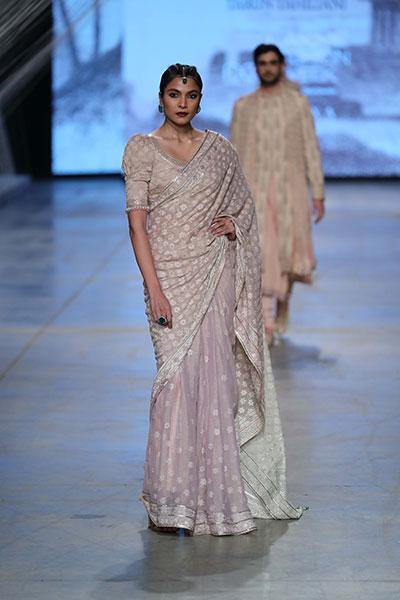 Lakme Fashion Week: Tarun Tahiliani showcases winter festive collection