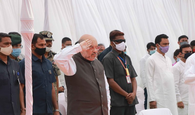 Amit Shah pays tribute to CRPF personnel martyred in Bijapur