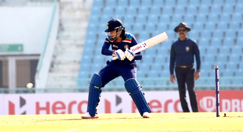 India's Women team in action against South Africa