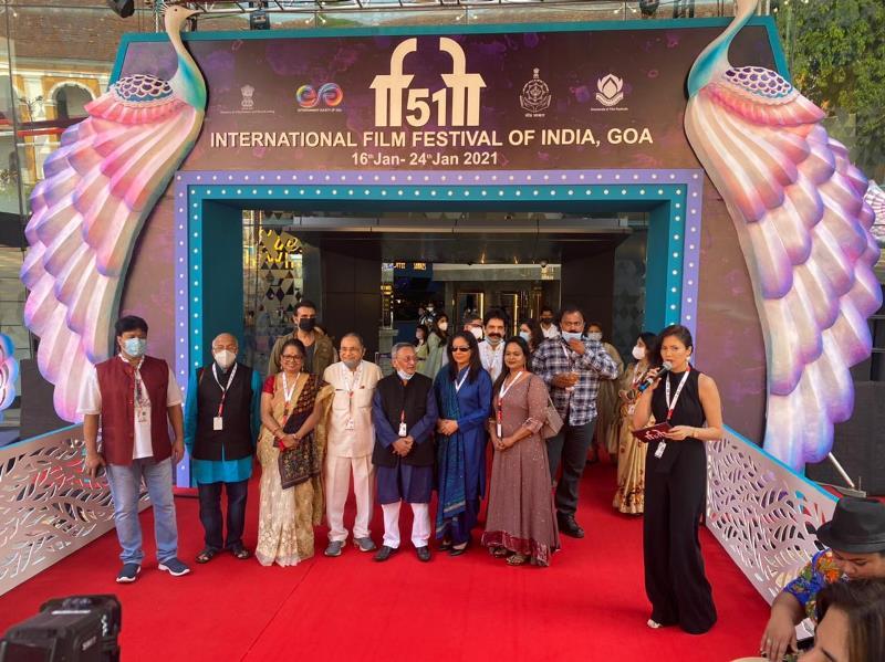 51st IFFI: Glimpses of Red Carpet of Saand Ki Aankh