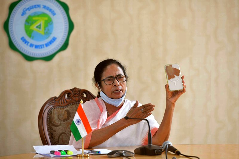Mamata Banerjee addresses press conference in Kolkata