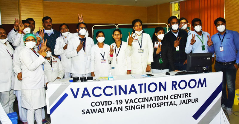 India begins world's largest Covid19 vaccination