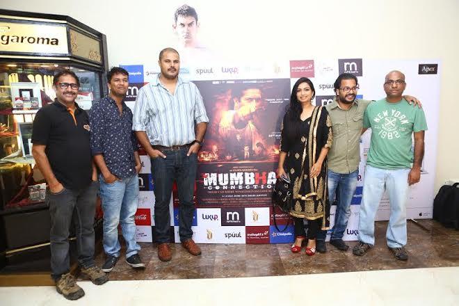 'Mumbhai Connection' premieres in Mumbai