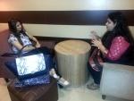 Tanishaa's coffee meeting with big fan