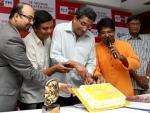 Sabyasachi Chakraborty and 92.7 Big FM celebrate award win
