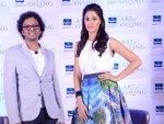 Nargis Fakhri launches the Art of Oiling