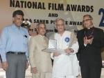 President confers film awards, Gulzar receives Dada Saheb Phalke