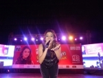 Shalmali Kholgade regales audience at Kanpur RED LiVE