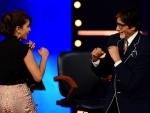 KBC hosts Priyanka Chopra in a special episode