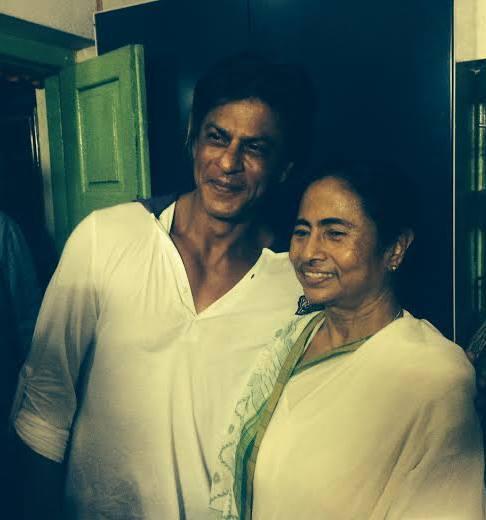 SRK meets Mamata in Kolkata
